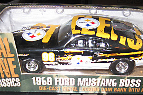 1998 Pittsburgh Steelers ERTL Ford Mustang Boss 302