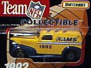1992 Los Angeles Rams Delivery Van