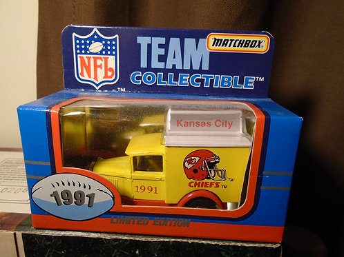 1991 Kansas City Chiefs Milk Truck
