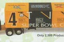 2000 Pittsburgh Steelers 4 Time Super Bowl Champions Tractor Trailer