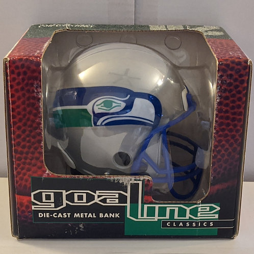 1996 Seattle Seahawks ERTL Mini Helmet Bank