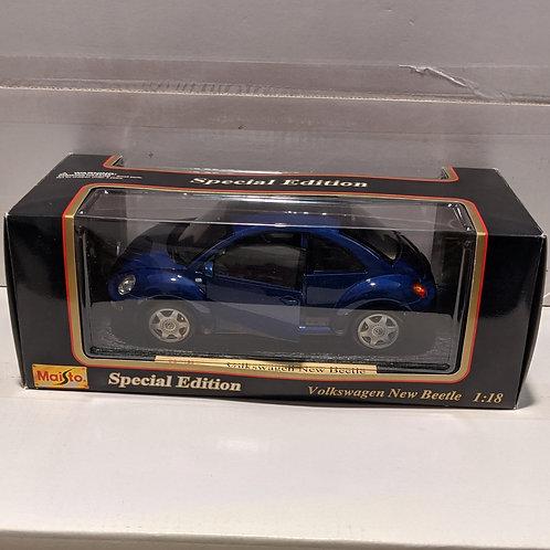 Volkswagen New Beetle (blue)
