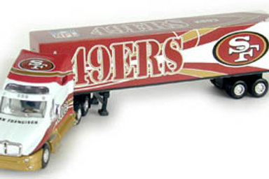 2003 San Francisco 49ers Tractor Trailer