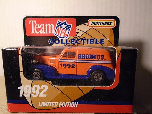 1992 Denver Broncos Delivery Van