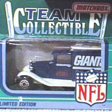 1990 New York Giants Milk Truck