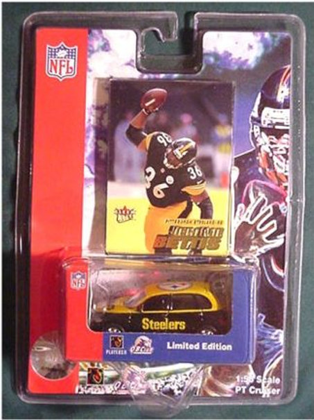 2001 Pittsburgh Steelers PT Cruiser w/ Jerome Bettis Card