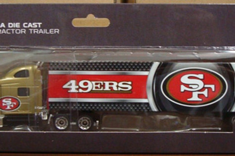 2013 San Francisco 49ers Tractor Trailer