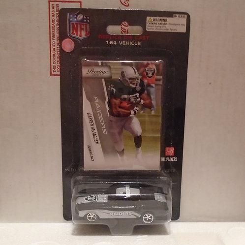 2010 Oakland Raiders Ford Mustang w/Darren McFadden Card