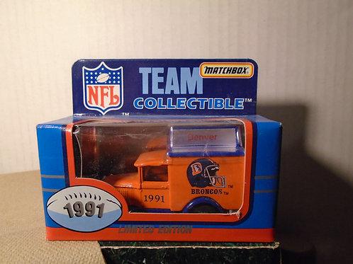 1991 Denver Broncos Milk Truck