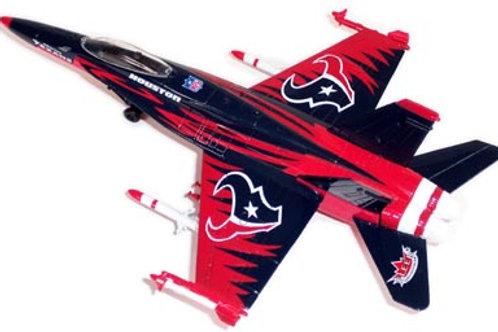 2004 Houston Texans F-18 Airplane