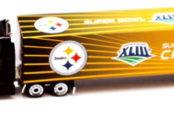 2009 Pittsburgh Steelers Super Bowl XLIII (43) Tractor Trailer