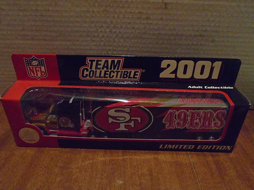 2001 San Francisco 49ers Tractor Trailer
