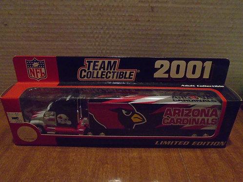2001 Arizona Cardinals Tractor Trailer