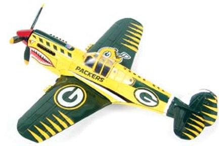 2004 Green Bay Packers P-40 Warhawk Airplane