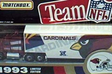 1993 Arizona Cardinals Tractor Trailer