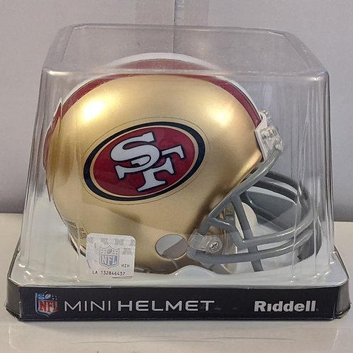 2014 San Francisco 49ers Riddell Mini Helmet