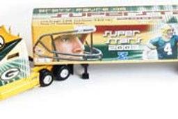 "2003 Green Bay Packers ""SuperStars"" Brett Favre Tractor Trailer"