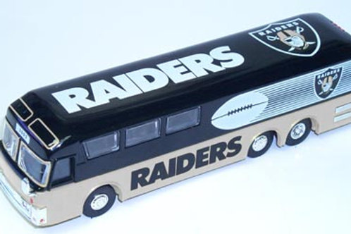 2002 Oakland Raiders Bus
