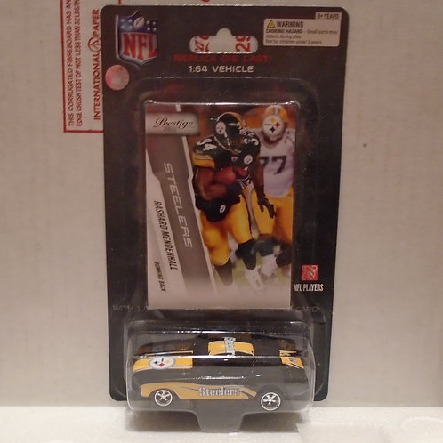 2010 Pittsburgh Steelers Ford Mustang w/Rashard Mendenhall Card