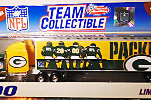 2000 Green Bay Packers Tractor Trailer