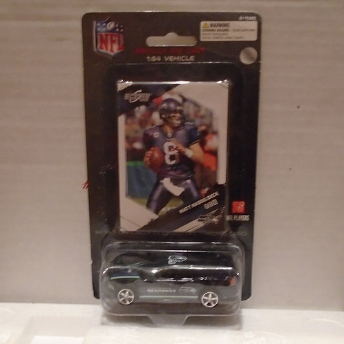 2009 Seattle Seahawks Dodge Charger w/Matt Hasselbeck Card