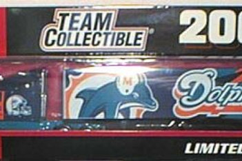2001 Miami Dolphins Tractor Trailer