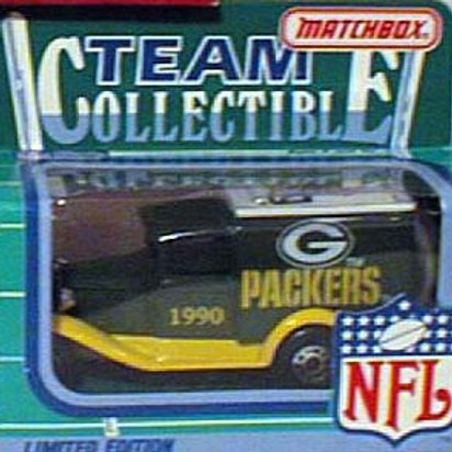 1990 Green Bay Packers Milk Truck