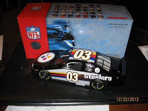 2003 Pittsburgh Steelers Action Racecar