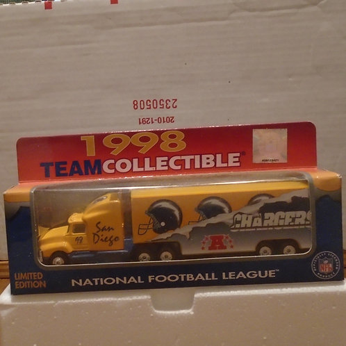 1998 San Diego Chargers Tractor Trailer