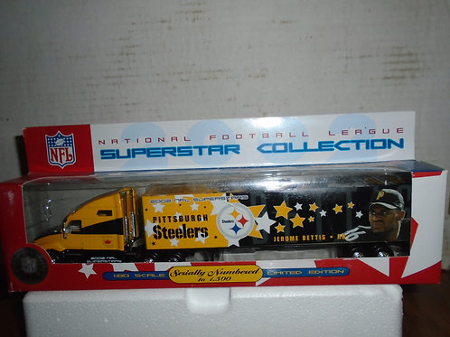 2002 Pittsburgh Steelers Jerome Bettis Tractor Trailer
