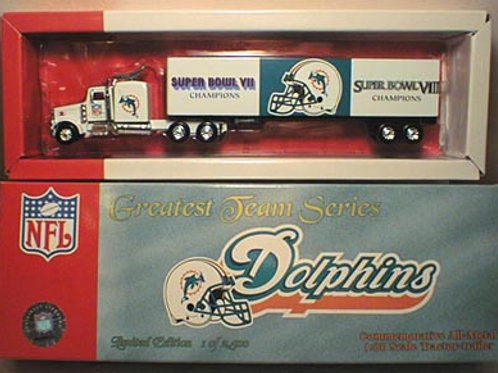 "2001 Miami Dolphins ""Greatest Team Series"" Tractor Trailer"
