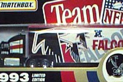 1993 Atlanta Falcons Tractor Trailer