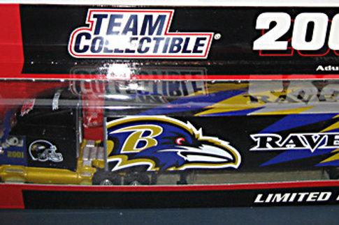 2001 Baltimore Ravens Tractor Trailer