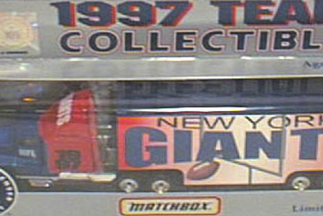1997 New York Giants Tractor Trailer