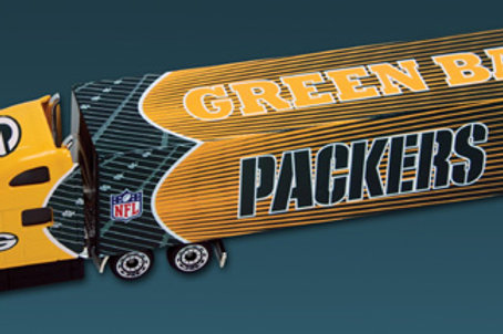 2010 Green Bay Packers Tractor Trailer
