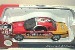 2001 Kansas City Chiefs Ford Thunderbird