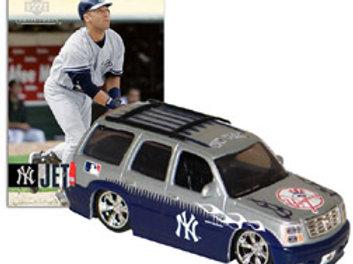 2006 New York Yankees Cadillac Escalade w/ Derek Jeter Card