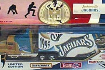 1995 Jacksonville Jaguars Tractor Trailer
