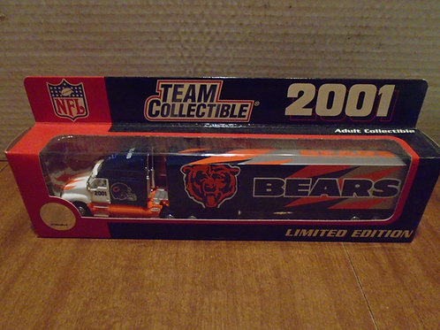 2001 Chicago Bears Tractor Trailer