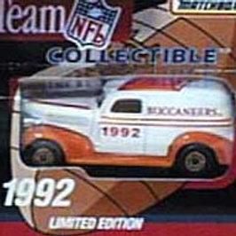 1992 Tampa Bay Buccaneers Delivery Van