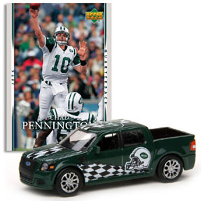 2007 New York Jets Ford SVT Adrenaline w/Chad Pennington Card