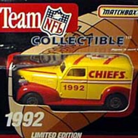 1992 Kansas City Chiefs Delivery Van