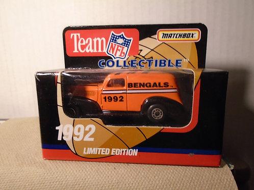 1992 Cincinnati Bengals Delivery Van