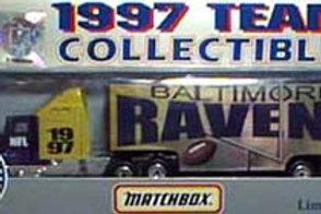 1997 Baltimore Ravens Tractor Trailer