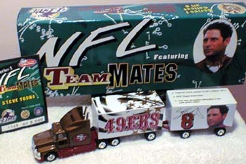 """1998 San Francisco 49ers """"Teammates"""" Steve Young Tractor Trailer"""