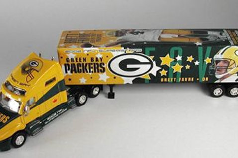 "2002 Green Bay Packers ""SuperStars"" Brett Favre Tractor Trailer"