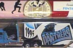 1995 Carolina Panthers Tractor Trailer