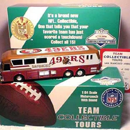 1996 San Francisco 49ers Talking Bus