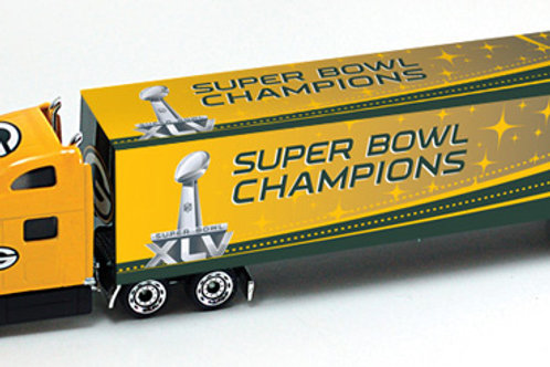 2011 Green Bay Packers Super Bowl XLV (45) Tractor Trailer