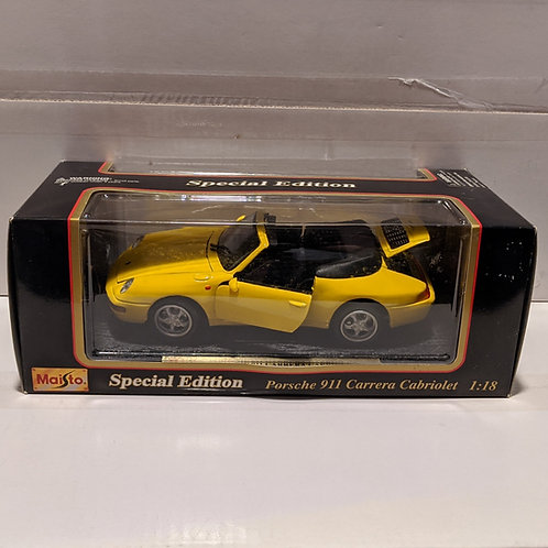 1994 Porsche 911 Carrera Cabriolet (yellow)